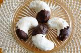 Chocolate Dipped Vanilla Crescents