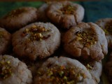 Rosewater Khatai Cookies