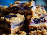Browned Butter Blueberry Pecan PieBars