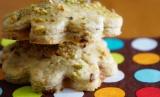 Rhubarb Compote Cookies
